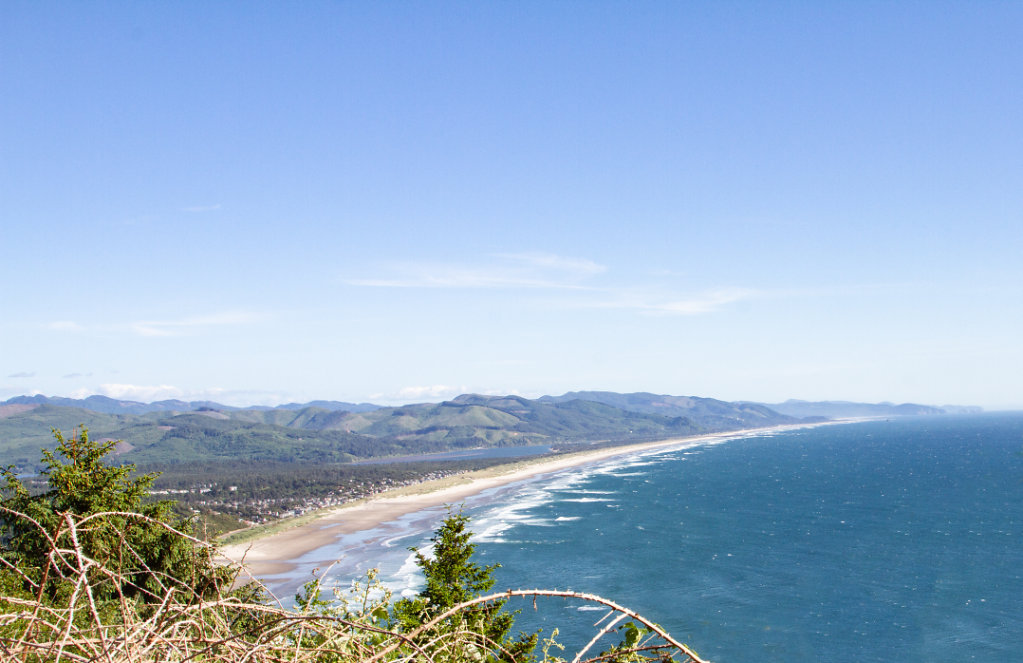 View from Neah-Kah-Nie Viewpoint,Oregon
